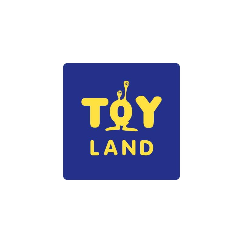 Logo Toyland, création de Frédérique Hayaux du Tilly, graphiste designer de c com'créa