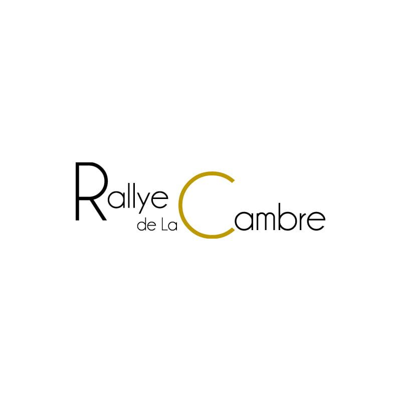 Logo Rallye de la Cambre créé par Frédérique Hayaux du Tilly, graphiste designer de c com'créa
