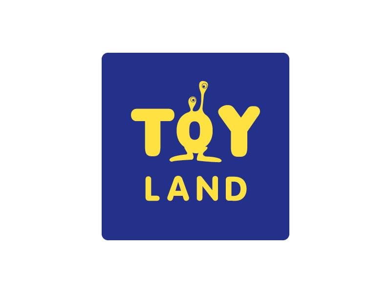 Logo Toyland, création de Frédérique Hayaux du Tilly, graphiste designer c com'créa