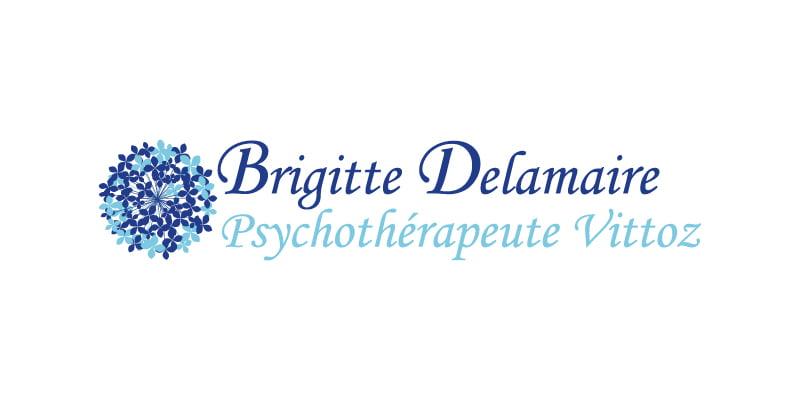 Logo Brigitte Delamaire, cliente de c com'créa
