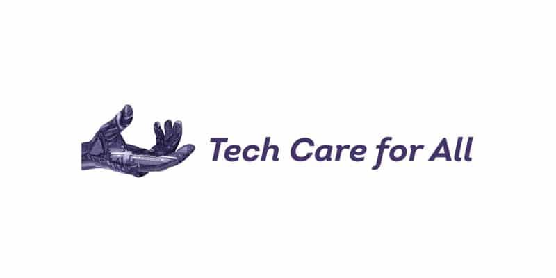 logo Tech care for all, client de C Com'Créa