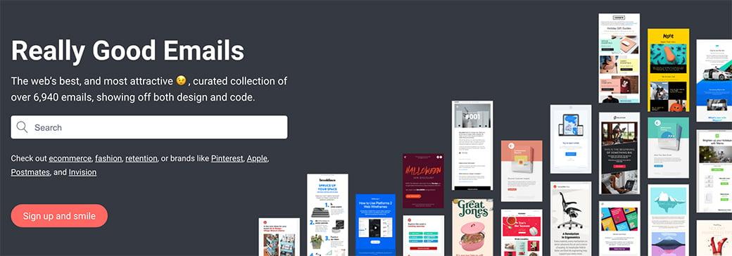chercher des design d'emails par mots clés, un outil de la Web Box de C Com'Créa