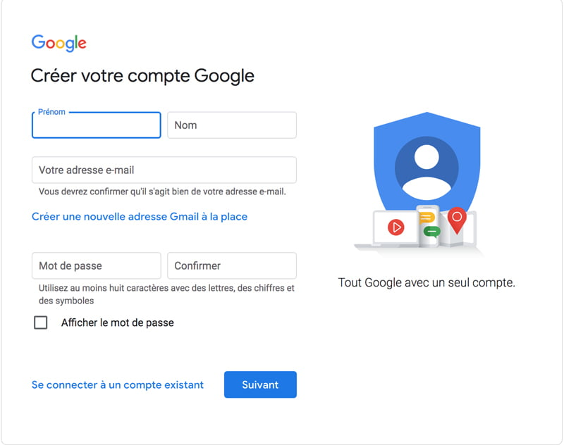 Créer son compte sur Google My Business avec C Com'Créa
