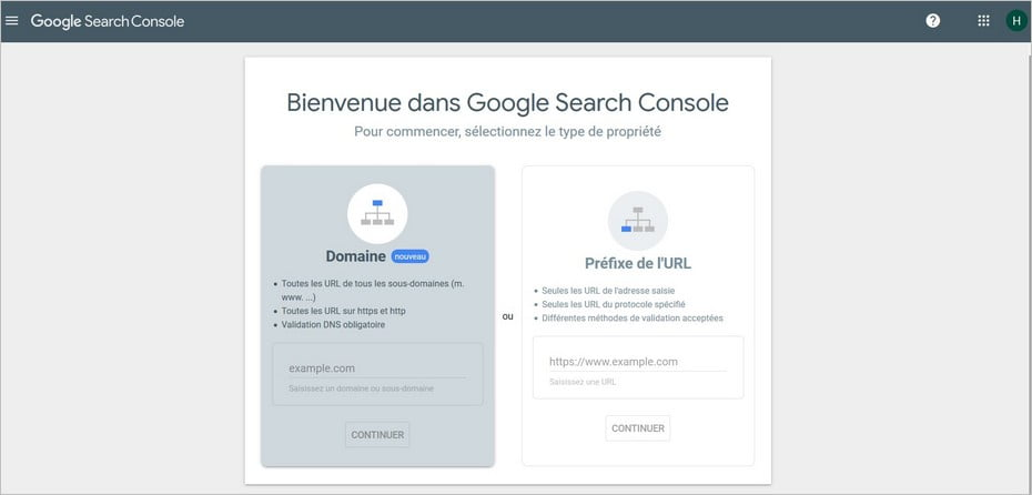 connecter son site à la search console de Google avec le tuto de C Com'Créa