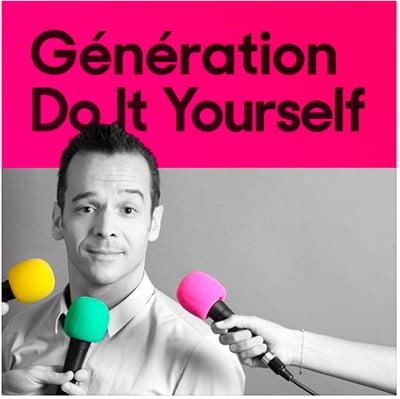 Génération Do It Yourself, dans le Top 10 des meilleurs podcasts de la Web Box