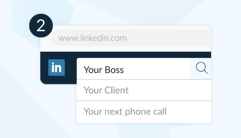 Ouvrir le profil LinkedIn et activer l'extension Crystal Knows