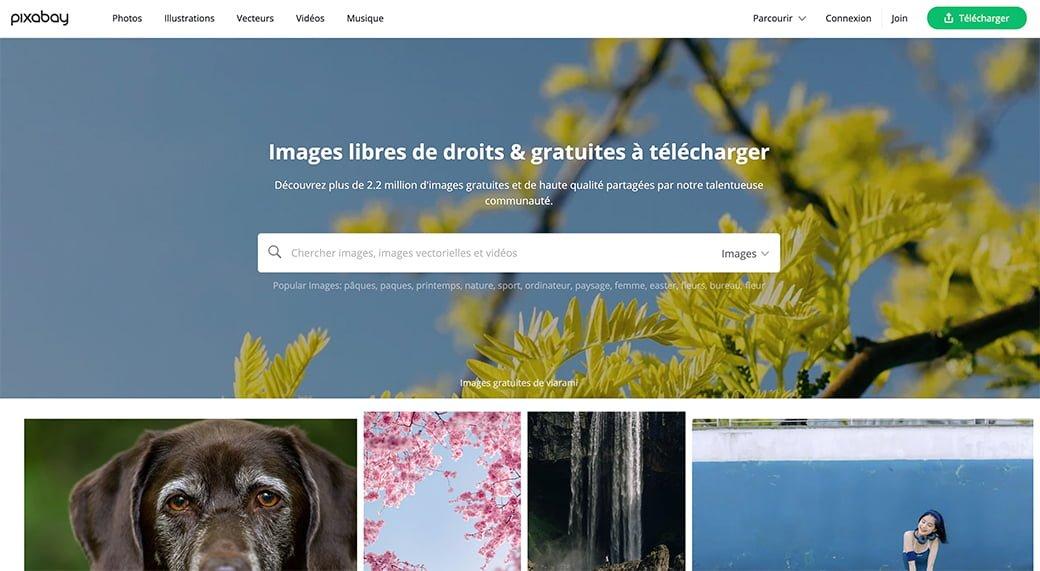 pixabay, une banque d'images et de vidéos gratuites libres de droits