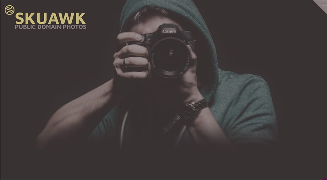 skuawk, une nouvelle banque d'images gratuites